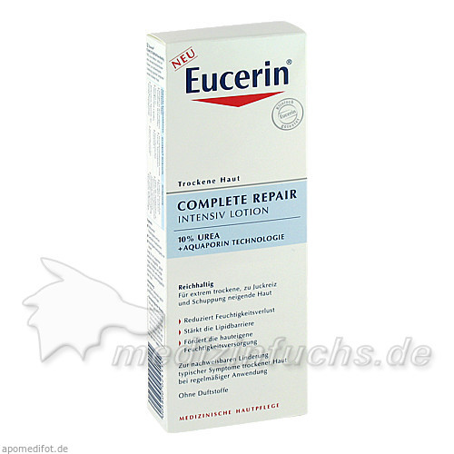 Eucerin Complete Repair Intesiv Lotion, 250 ml, BEIERSDORF G M B H