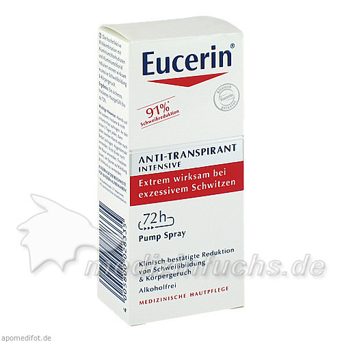 Eucerin Anti-Transpirant Intensiv 72h Pump-Spray, 30 ml,