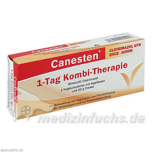Canesten® Clotrimazol Gyn Once - Kombi, 1 St, Bayer Austria GmbH