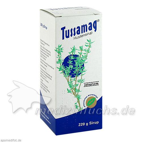 Tussamag® Hustensirup, 220 g, ratiopharm Arzneimittel Vertriebs-GmbH