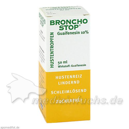 BRONCHOSTOP® Guaifenesin 10%, 50 ml, Kwizda Pharma GmbH
