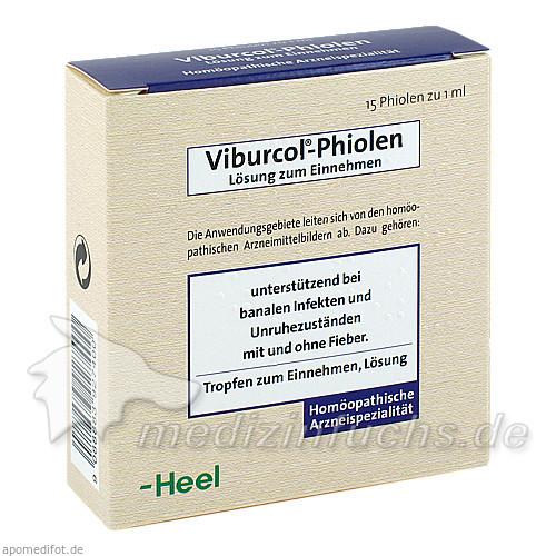 Viburcol®-Phiolen, 15 St, Dr. Peithner GmbH & Co KG
