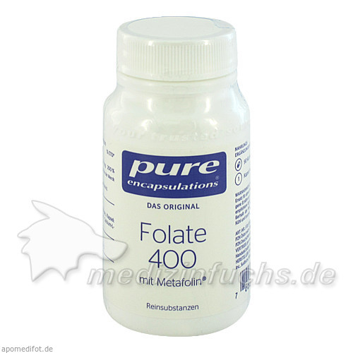 Pure encapsulations Kapseln Folate 400 +meta, 90 Stk.,