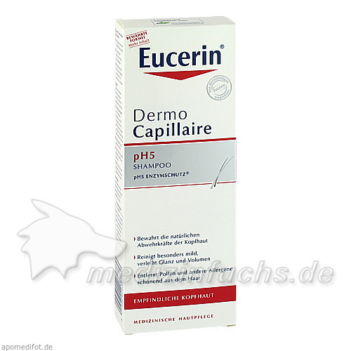 Eucerin DermoCapillaire pH5 Shampoo, 250 ml, BEIERSDORF G M B H