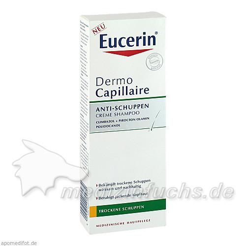 Eucerin DermoCapillaire Anti-Schuppen Cremeshampoo, 250 ml, BEIERSDORF G M B H