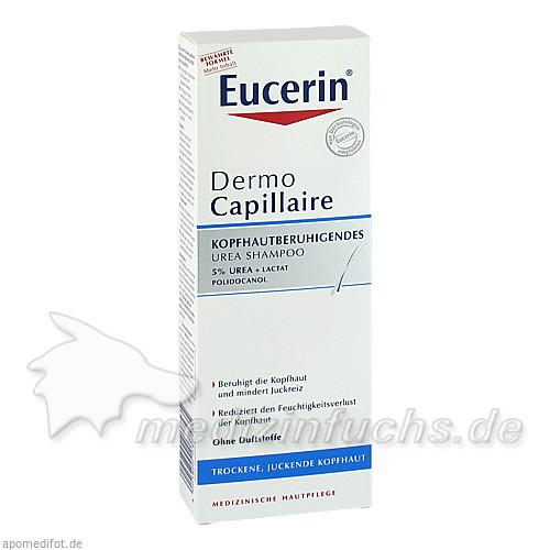Eucerin DermoCapillaire Kopfhautberuhigendes Shampoo mit Urea, 250 ml, BEIERSDORF G M B H