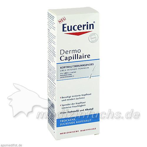 Eucerin DermoCapillaire Kopfhautberuhigendes Urea Intensiv Tonikum, 100 ml,
