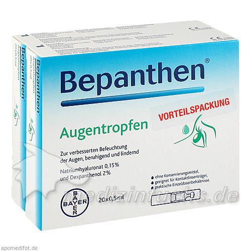 Bepanthen® Augentropfen, 40X0.5 ml, Bayer Austria GmbH