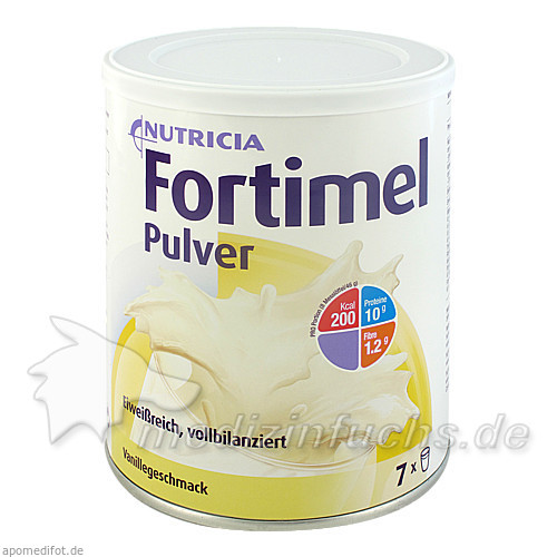 Fortimel Pulver Vanille 335g, 1 Stk.,