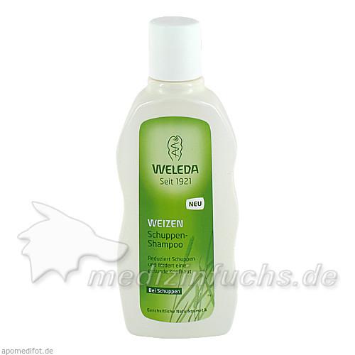 Weleda Shampoo Weizen Schuppen, 190 ml,