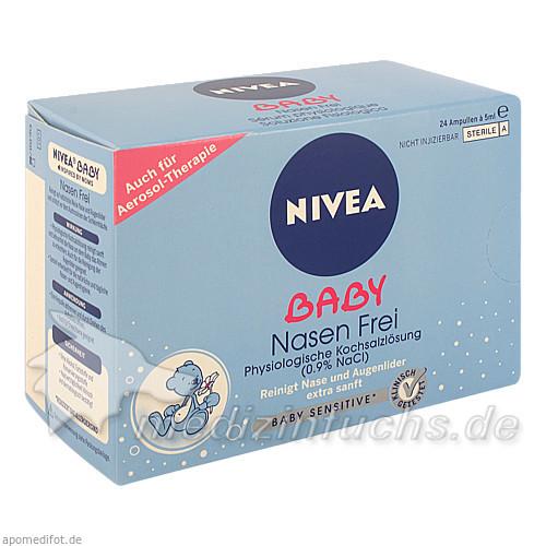 Nivea Baby Nasenfrei Ampullen 5 ml, 24 Stk., BEIERSDORF G M B H