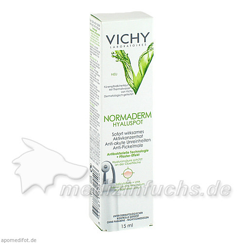 Vichy Normaderm Hyaluspot, 15 ml, VICHY