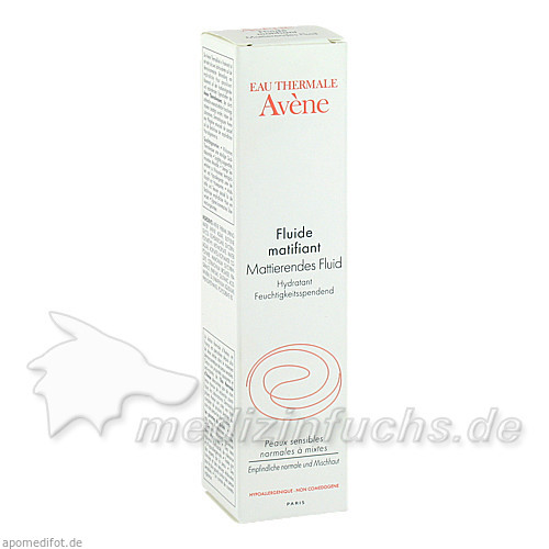 Avene Basis Mattierendes Fluid, 50 ml,