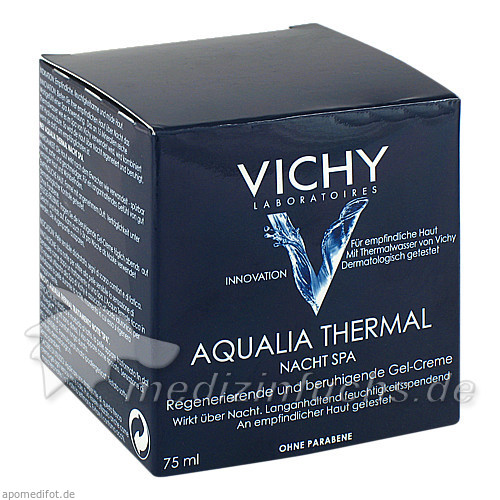 Vichy Aqualia Thermal Nacht spa, 75 ml,