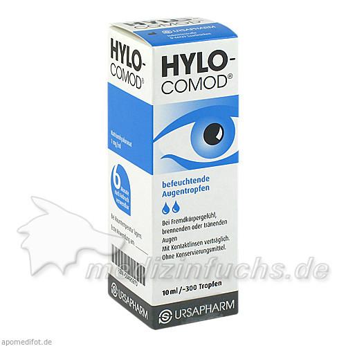 Hylo-Comod Augentropfen, 10 ml,
