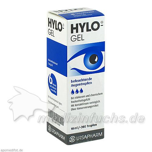 Hylo-Gel Augentropfen, 10 ml,