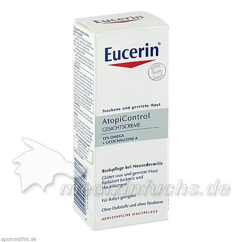 Eucerin AtopiControl Gesichtscreme, 50 ml, BEIERSDORF G M B H