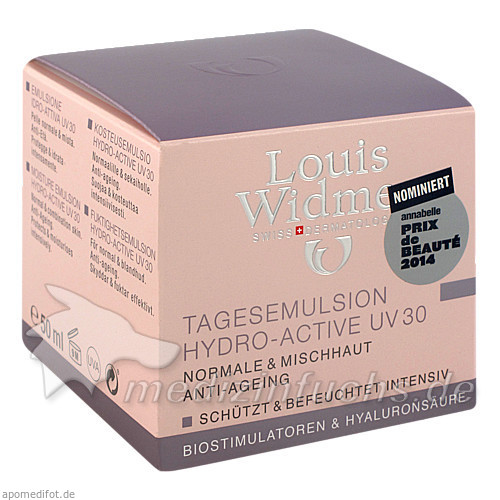 Louis Widmer Tagesemulsion Hydro-Active UV 30, 50 ml,