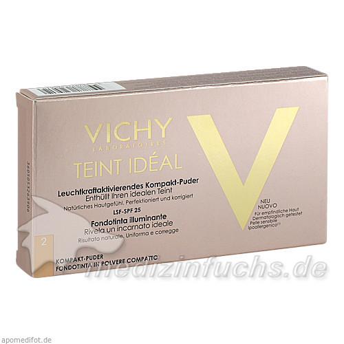 Vichy Teint Ideal Kompaktpuder 02 - mittel, 9.5 g,