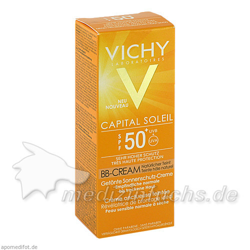 Vichy Ideal Soleil BB Cream 50+, 50 ml,
