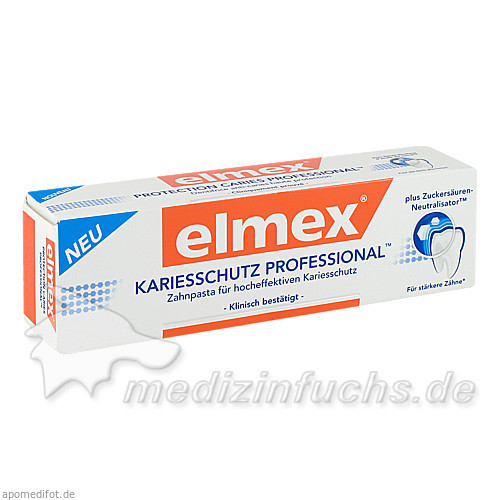 ELMEX ZP KARIESSCHUTZ PROF, 75.0 ML,