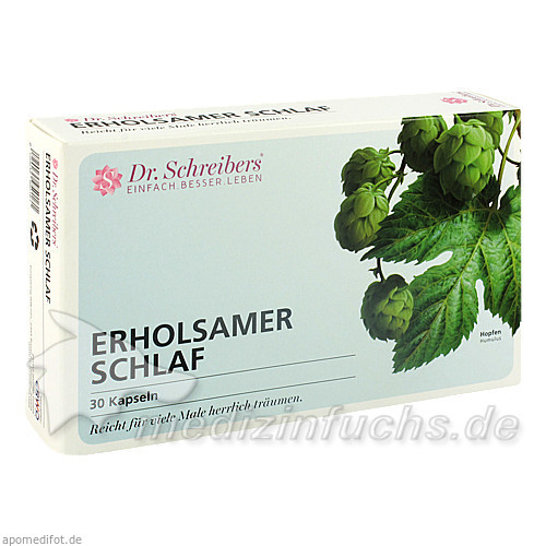 Dr. Scheibers Erholsamer Schlaf Kapseln, 30 Stk., ERWO PHARMA GMBH