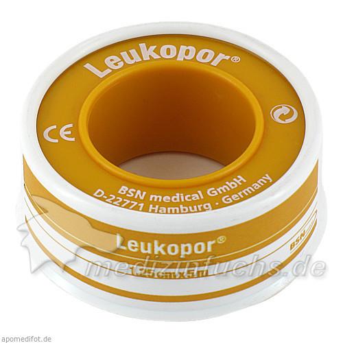 Leukopor 1,25 cm x 5 m, 1 Stk., FIGUREFORM WIL